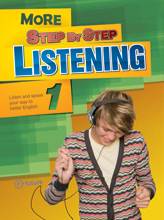 More Step by Step Listening 1 Student Book (with CD and Answer Key)