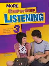 More Step by Step Listening 3 Student Book (with CD and Answer Key)