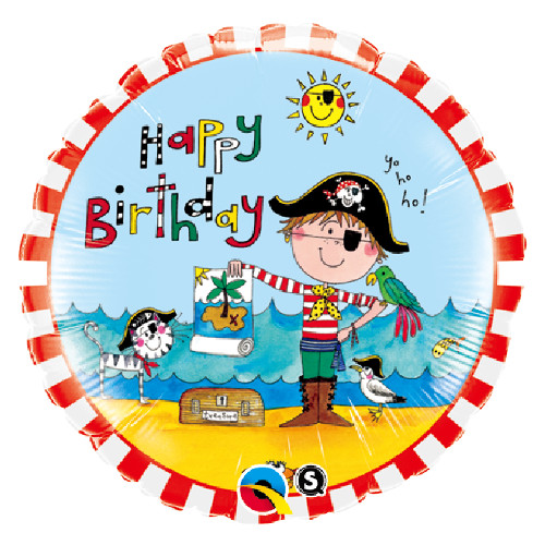 Balloons: Birthday Pirate