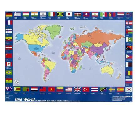 One World Map