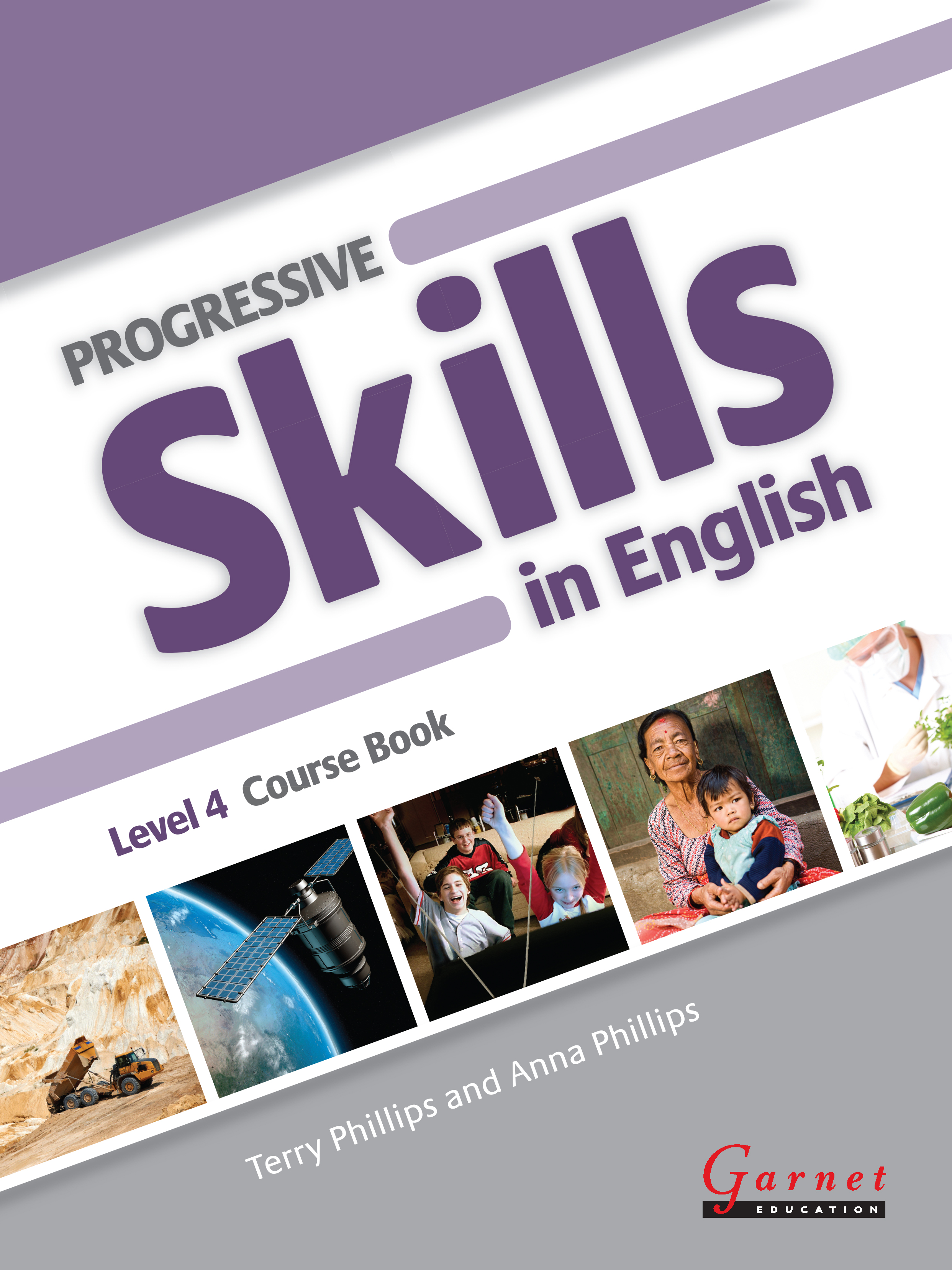 Progressive Skills in English 4 Course Book with CDs and DVD