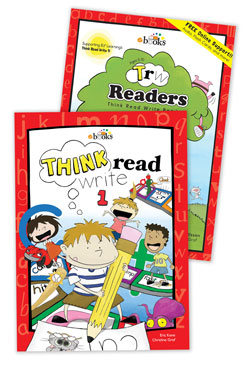 Think Read Write 1 Student Book (with CD) and TRW 1 Readers ≪2点セット≫