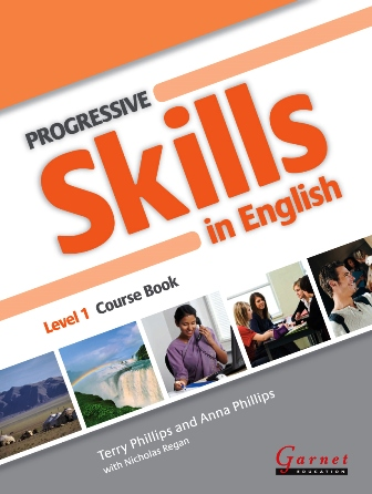 Progressive Skills in English 1 Course Book with CDs and DVD
