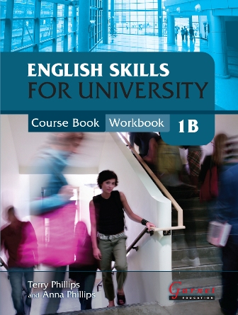 English Skills for University 1B Course Book/Workbook (with CDs)
