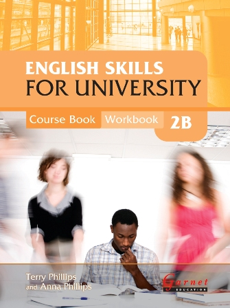 English Skills for University 2B Course Book/Workbook (with CDs)