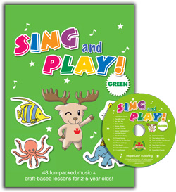 Sing and Play Green Craft Book (with CD)