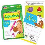 Trend Wipe-Off Activity Cards