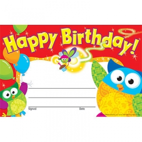 Trend Award: Happy Birthday (Owl-Stars!)