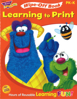 Wipe-Off Books: Learning To Print
