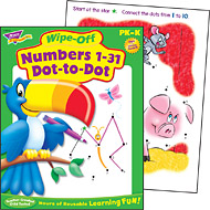 Wipe-Off Books: Numbers 1-31 Dot-to-Dot