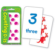 Trend Pocket Flashcards: Counting 0-25