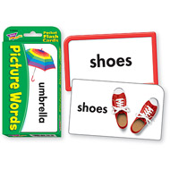 Trend Pocket Flashcards: Picture Words