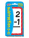 Trend Pocket Flashcards: Subtraction 0-12