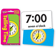 Trend Pocket Flashcards: Telling Time