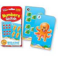 Trend Challenge Cards Numbers Go Fish