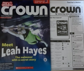 CROWN Mary Glasgow Magazines 2020 SPRING SUBSCRIPTIONS - 5 issues (MARCH, MAY, SEPTEMBER, NOVEMBER, JANUARY 2021 ) accompanied by Teachers\' notes : CROWN Teacher's pack (PRE-INTERMEDIATE – A1-A2)