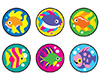 SuperSpots Stickers: Fabulous Fish