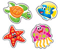 superShapes Stickers Large : Sea Buddies™