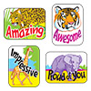 Applause Stickers: Awesome Animals
