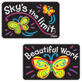 Applause Stickers: Bright Butterflies