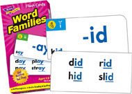 Trend Skill Drill Flashcards Word Families
