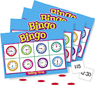 Trend Bingo Games: Telling Time