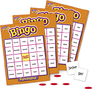 Trend Bingo Games: Synonyms