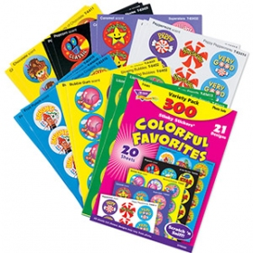 Stinky Stickers: Variety Pack Colorful Favorites