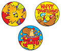 Stinky Stickers: Thanksgiving Time (Pumpkin)