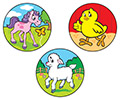 Stinky Stickers: Cuddly Critters (Strawberry)