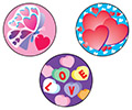 Stinky Stickers: Valentine's Day (Cherry)