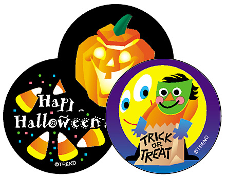 Stinky Stickers: Halloween (Licorice) (T-930)