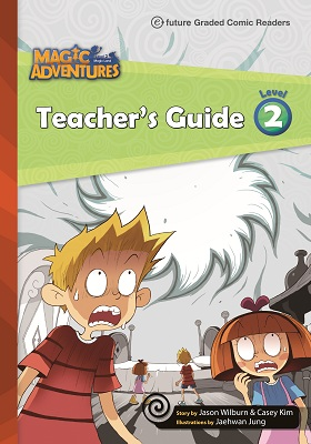 Magic Adventures Graded Comic Readers 2 Teacher\'s Guide with Word Cards