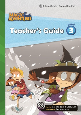 Magic Adventures Graded Comic Readers 3 Teacher\'s Guide with Word Cards