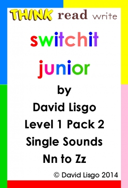 Think Read Write Switchit Junior: Level 1 Pack 2