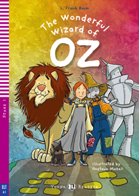 Young ELI Readers 2: The Wonderful Wizard of Oz (with CD)