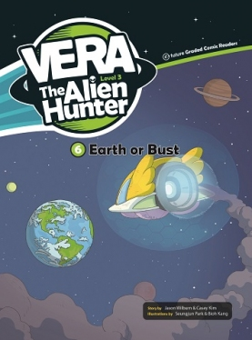 Vera the Alien Hunter 3-6: Earth or Bust (with CD)