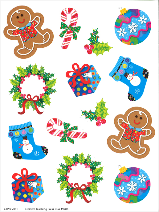 Winter Holiday Stickers (CTP 4129)