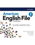 American English File 3rd Edition 2 Class Audio CDs