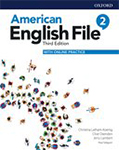 American English File 3rd Edition 2 Student Book with Online Practice