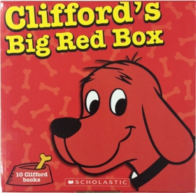 Clifford's Big Red Box (10 Books)