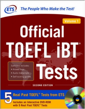 Official TOEFL iBT Tests with DVD-Rom Vol.1