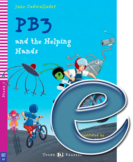Young ELI Readers 2: PB3 and the Helping Hands (e-book)