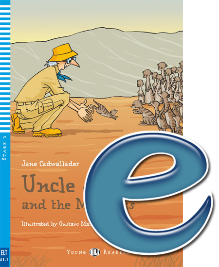 Young ELI Readers 3: Uncle Jack and the Meerkats (e-book)