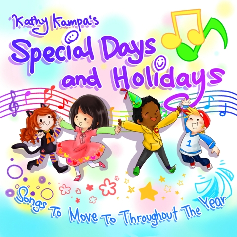 Kathy Kampa\'s Special Days and Holidays CD