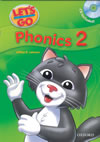 Let's Go Phonics Book 2 with Audio CD