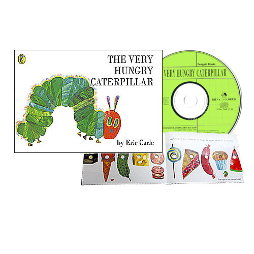 The Very Hungry Caterpillar 絵本CDセット