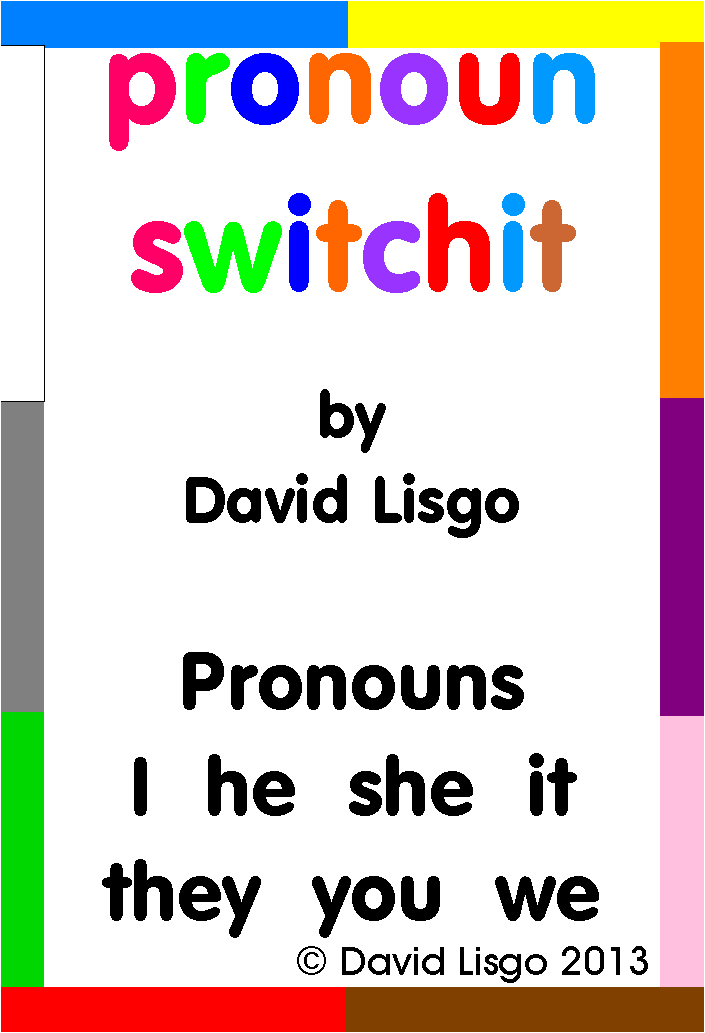 Pronoun Switchit Cards (Download Version)