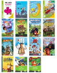 Readers Mini Library (Kids/Easy to Read) - 15 Books