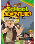 School Adventures Graded Comic Readers 1-6: Summer\'s End (with CD)